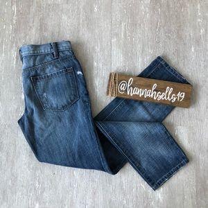 Loft Boyfriend Jeans Size 0